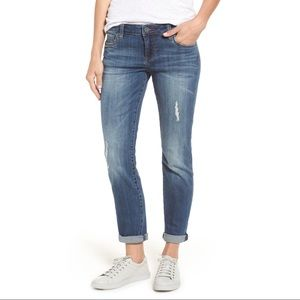 Kut From The Kloth Catherine Boyfriend Jeans Sz 8